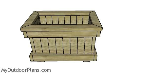 Planter Box From 2X4 Lumber Plans In 2019 Woodworking 400 x 300