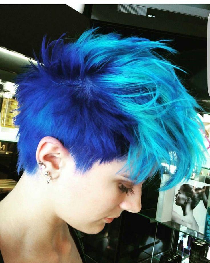 Best 25 Short Dyed Hair Ideas On Pinterest Dyed Hair