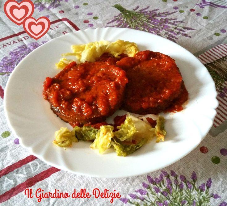 Medaglioni+di+soia+con+verdure+al+pomodoro