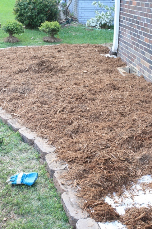 Flowerbed Tutorial - newspaper to stop weeds! ( I use this between the rows in my veggie garden too ! Works great ! )