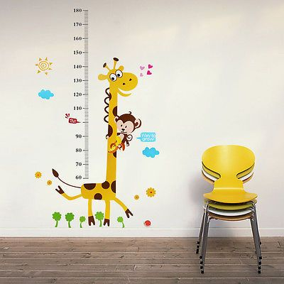 sticker misura altezza giraffa 2