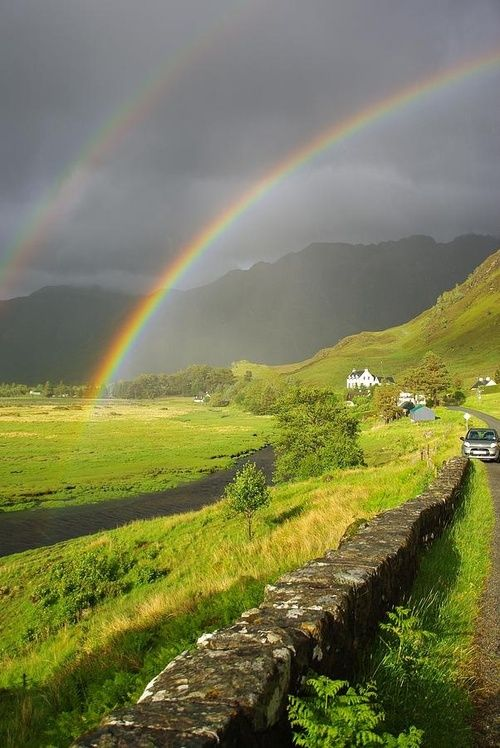 Stone Fence, The Highlands, Scotland