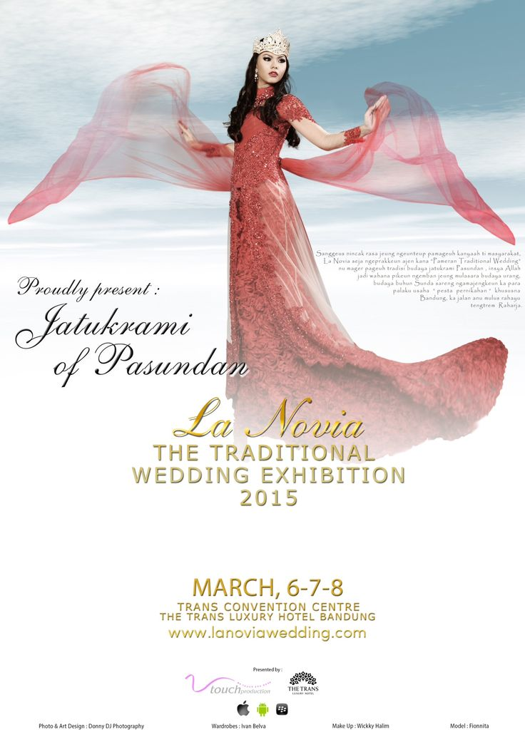 Visit the Traditional Wedding Exhibition 2015 The Trans Luxury Convention Center, Bandung Please Contact +628122332237 for more info.