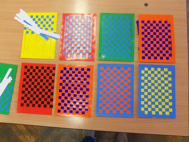 Játékos tanulás és kreativitás: Papírszövés