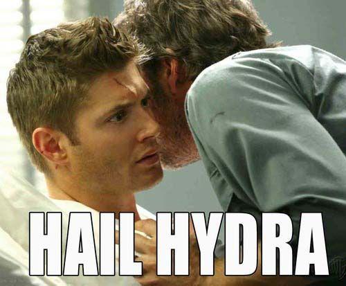 Hail HYDRA meme supernatural