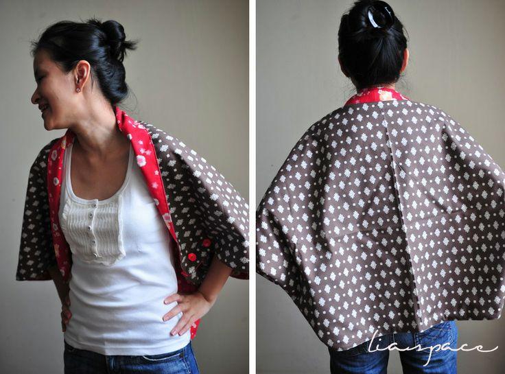 lias crafty journey: tutorial: multi reversible cape