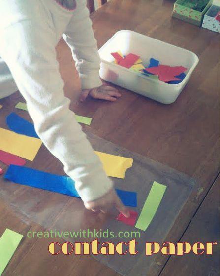 5 Quiet Toddler Activities!GREAT LINK!
