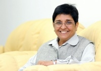 Dr Kiran Bedi, India's first and highest (woman) ranking officer who joined the Indian Police Service in 1972 and a social activist.   To know more follow the link: http://itsmyascent.com/web/itsmyascent/hr-zone/-/asset_publisher/4htH/content/%E2%80%9Ci-am-a-reformist-at-heart%E2%80%9D