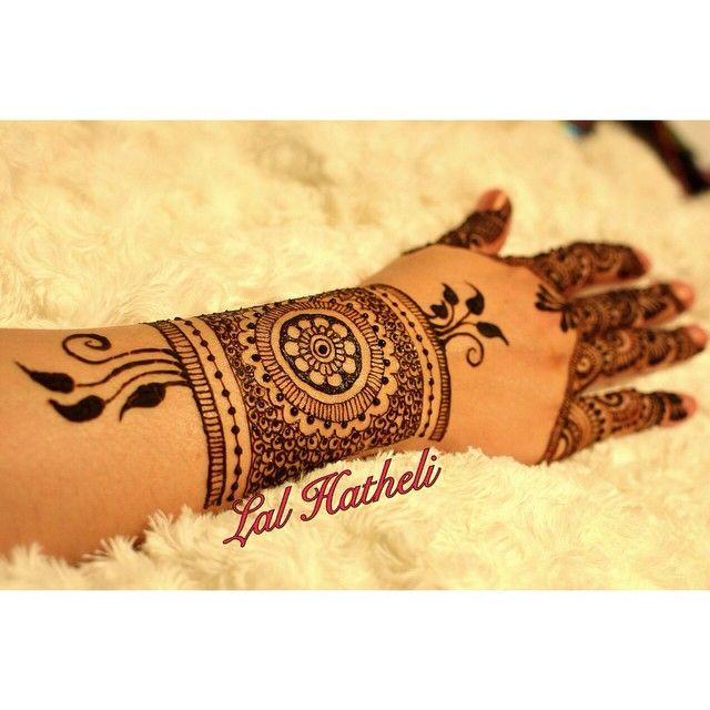 Henna cuff design by Lal Hatheli
