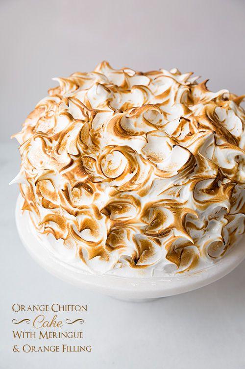 Best 25+ Orange chiffon cake ideas on Pinterest   Lemon ...