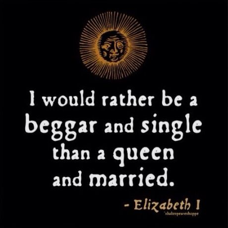 Elizabeth I Quote about Marriage
