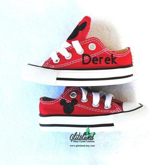 1f6568c383790 Preschool Mickey Mouse Converse Chuck Taylor Canvas Sneakers ...