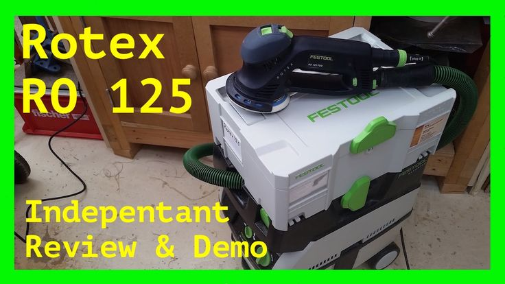 Festool Rotex 125: My Thoughts, Review & Demo