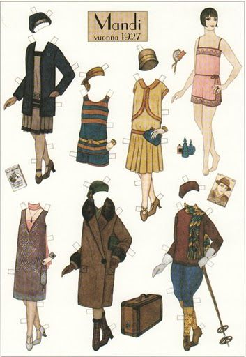 Mandi, 1927 | Gabi's Paper Dolls