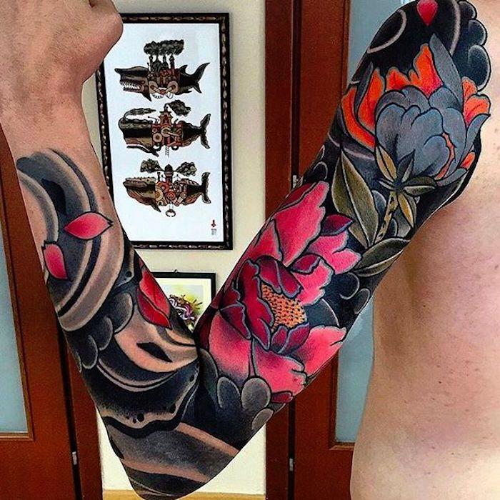 9 best sleeve tattoo images on pinterest japanese sleeve. Black Bedroom Furniture Sets. Home Design Ideas