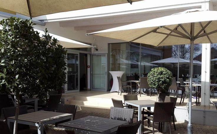 Solero Sonnenschirme Gastroschirm Patio Landhotel Birkenhof Gols
