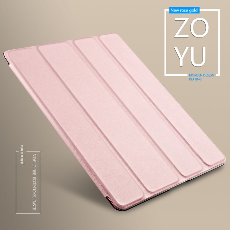 Case for iPad 2 3 4, Color PU Transparent Back Ultra Slim Light Weight Trifold Smart Cover for ipad 2 case   iPhone Covers Online