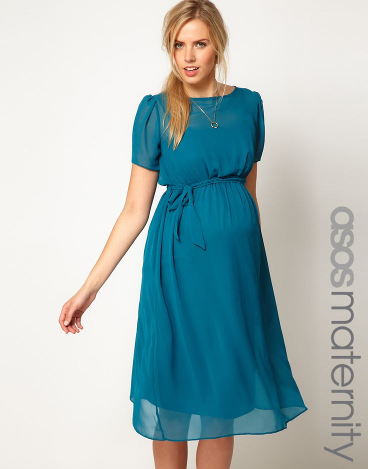 fb4c546ee8a CHIFFON MATERNITY DRESS - Mansene Ferele