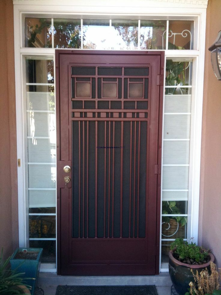 40 Best Images About Front Door Gate On Pinterest