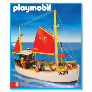 Playmobil 3551 Fishing Trawler / Browse Motor_Antex Argentina // Not available - Shipping worldwide