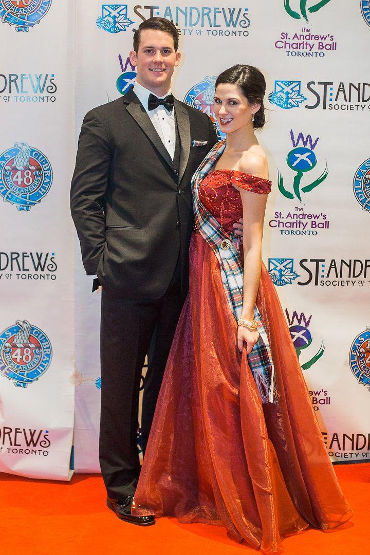 St Andrew S Ball Toronto Gentlemen S Attire Ladies Gown Scottish Fashion Gowns