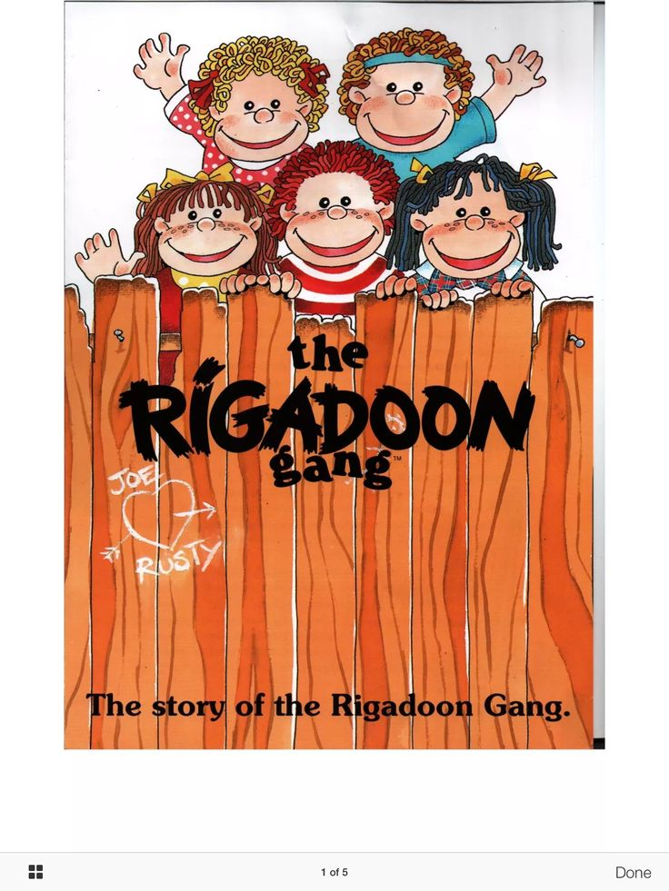 Story of the Rigadoon Gang. Page 1