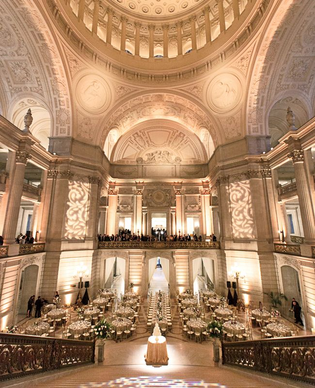 5 of the Greatest Places to Get Married in the US - SF City Hall