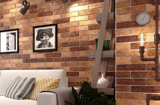 brick wall tile brick look tile