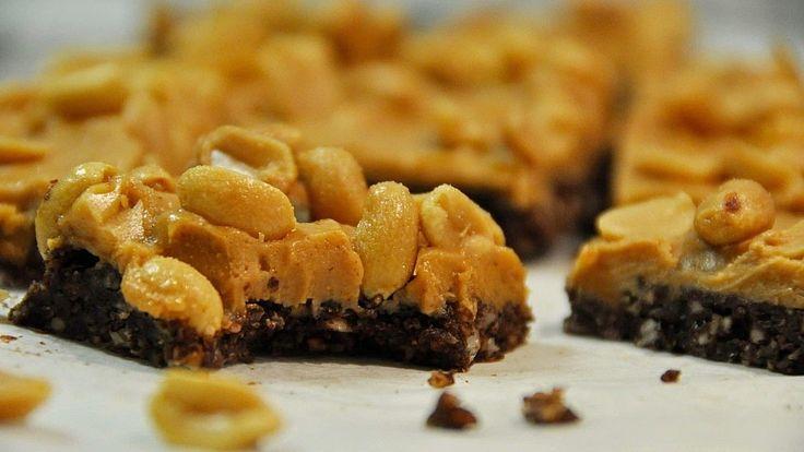 Recept: Snabba choklad- och jordnötsrutor - Rawness