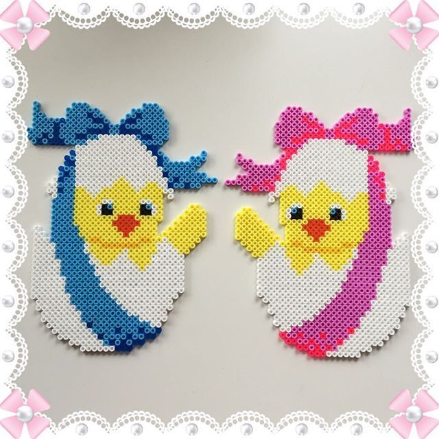 Easter eggs hama beads by design_by_sofia