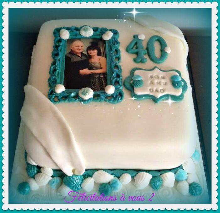 40 e anniversaire de mariage