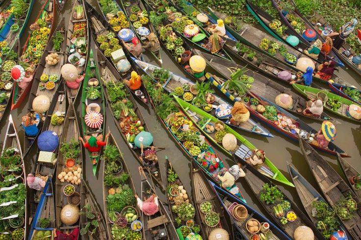 Floating Market, Malaysia