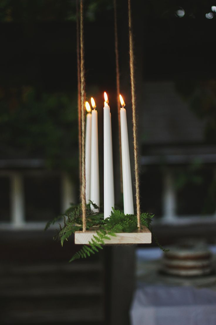 Best 25 Hanging candle chandelier ideas on Pinterest Outdoor