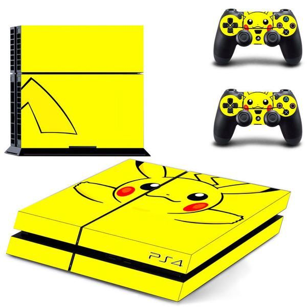 PS4 Pokemon decal sticker skin, for sony playstation 4