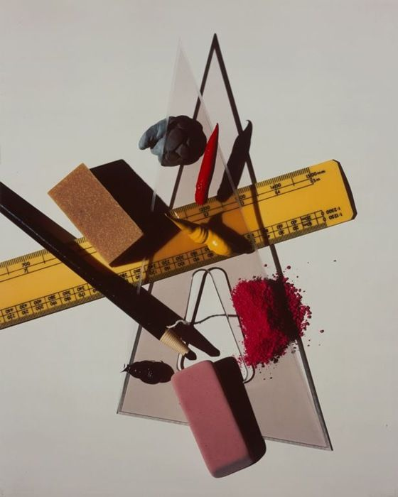 Still Life with Triangle and Eraser, 1985