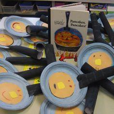 Eric Carle Pancakes pancakes crafts - Google Search