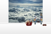 Above Clouds - Fototapeter - Photowall