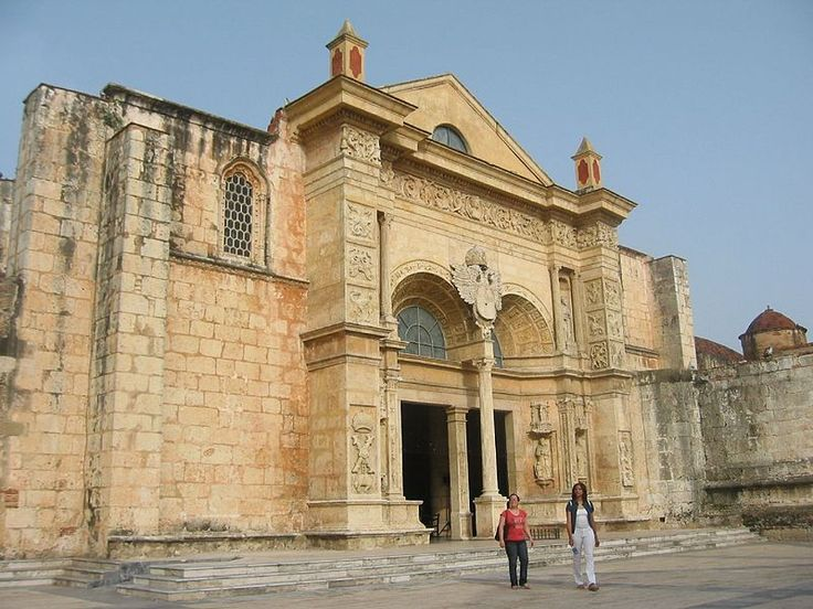 Santo Domingo has the oldest cathedral in the Americas