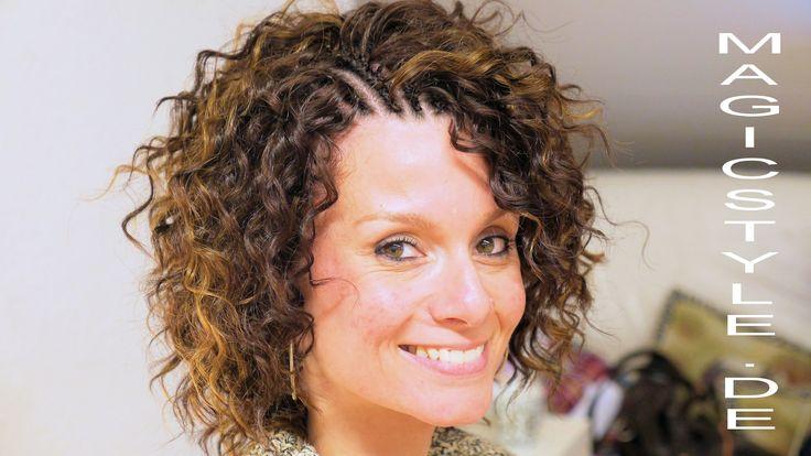 Isabells Lockenkopf:Thermofiberhaar mit der Latchhook/Crochethook Techni...