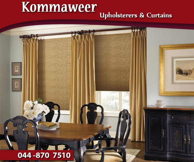 #DidYouKnow that curtains form an important decor item in your home furnishings as they complete the desired look of your house and make an important style statement. #Kommaweer