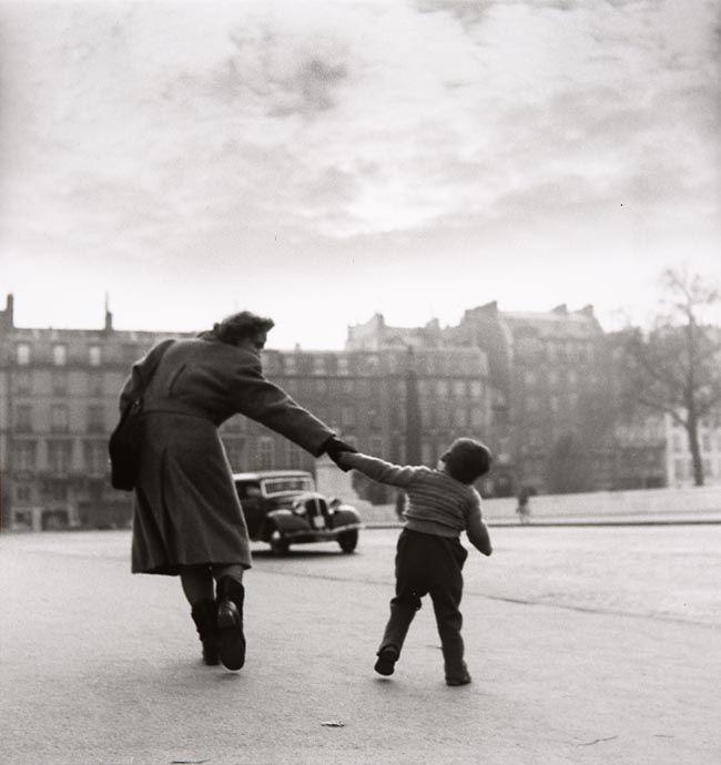 Louis Stettner. Avenue de Chatillon, 14th Arrond., Paris c.1949