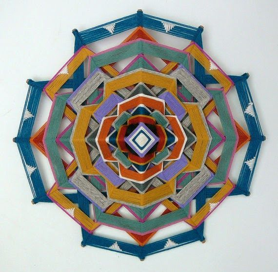 EL OJO DE DIOS - interesting patterns