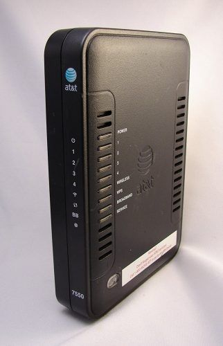 AT&T Westell 7550 DSL Modem/Router - AT&T Approved DSL Modems