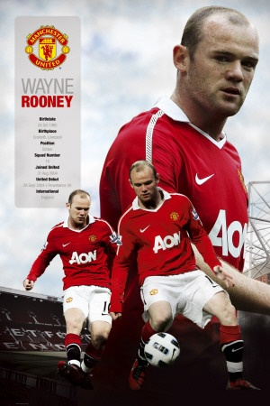 Wayne Rooney had two big goals in the win over Manchester City on Sunday (Dec. 10, 2012)