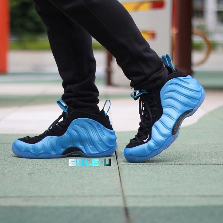 "Nike Air Foamposite ""University Blue"" Release In 2016"