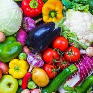 Schlank ohne Sport: Gemüse an Tag 2.
