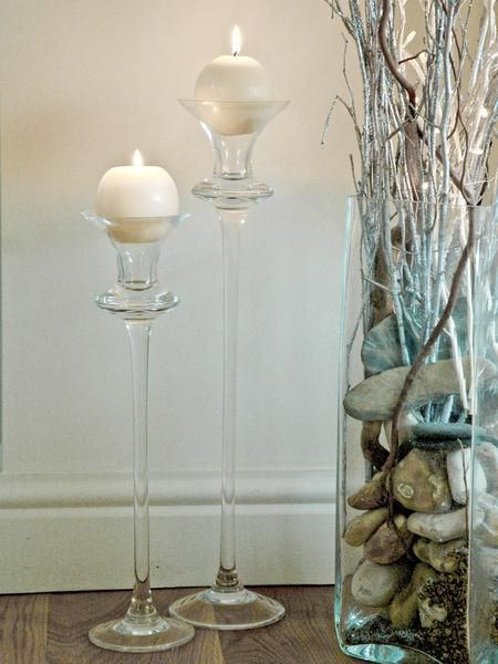 110 Best Glass And Candles Images On Pinterest Table Centers Centerpieces And Candle Lanterns