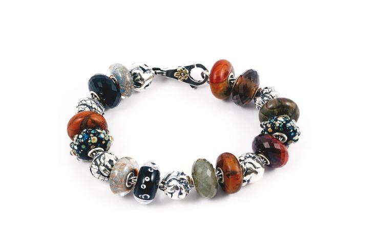 Trollbeads bracelet with zodiac beadsTrollbeads Bracelets, Zodiac Beads