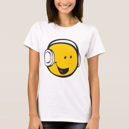 Headphones Emoji T-Shirt - tap, personalize, buy right now!