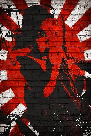 Art stencil of daughter JohnnyKoi!